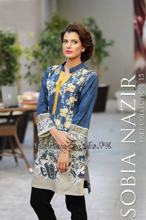 Sobia Nazir Pret Wear Collection 2015 (1)