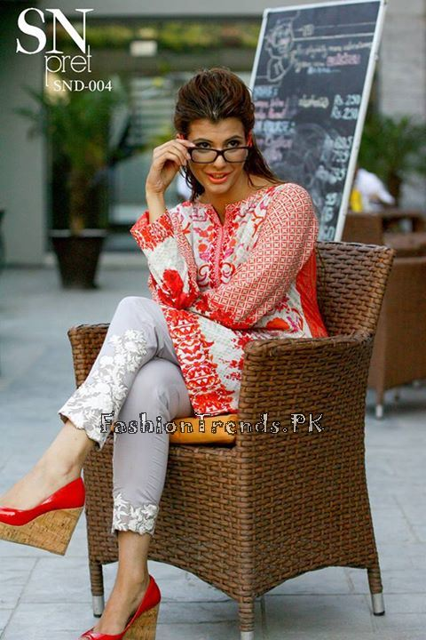 Sobia Nazir Pret Wear Collection 2015 (2)