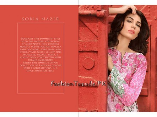 Sobia Nazir Unstiched Tunic Collection 2015 (2)