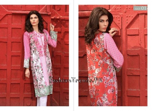 Sobia Nazir Unstiched Tunic Collection 2015 (3)