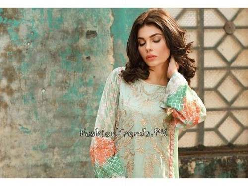 Sobia Nazir Unstiched Tunic Collection 2015 (4)