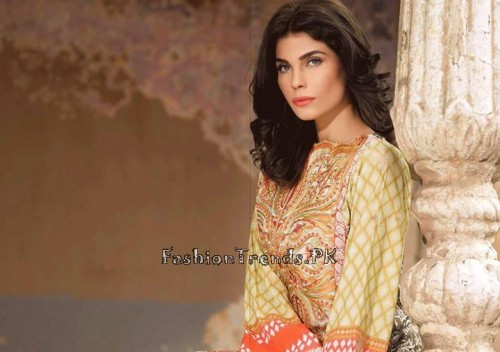 Sobia Nazir Unstiched Tunic Collection 2015 (6)