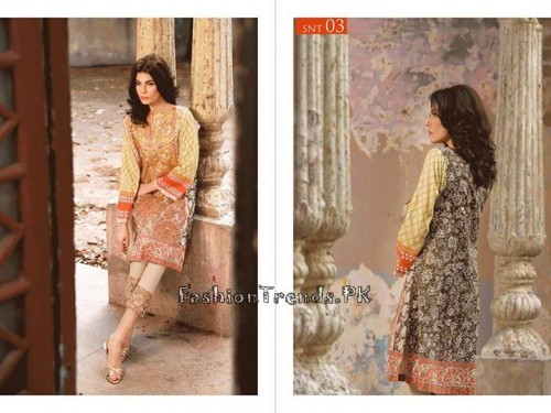 Sobia Nazir Unstiched Tunic Collection 2015 (7)