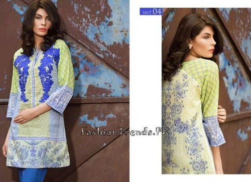 Sobia Nazir Unstiched Tunic Collection 2015 (9)