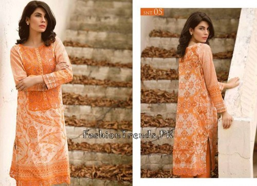 Sobia Nazir Unstiched Tunic Collection 2015 (11)