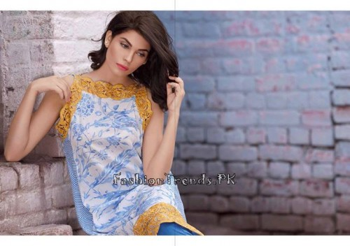 Sobia Nazir Unstiched Tunic Collection 2015 (14)