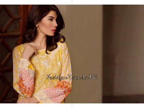 Sobia Nazir Unstiched Tunic Collection 2015 (16)