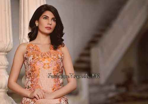 Sobia Nazir Unstiched Tunic Collection 2015 (18)