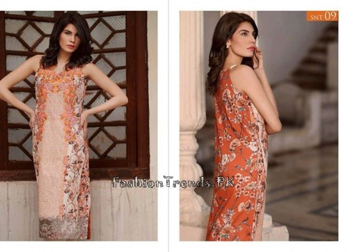 Sobia Nazir Unstiched Tunic Collection 2015 (19)