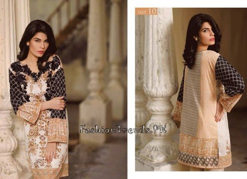 Sobia Nazir Unstiched Tunic Collection 2015 (21)
