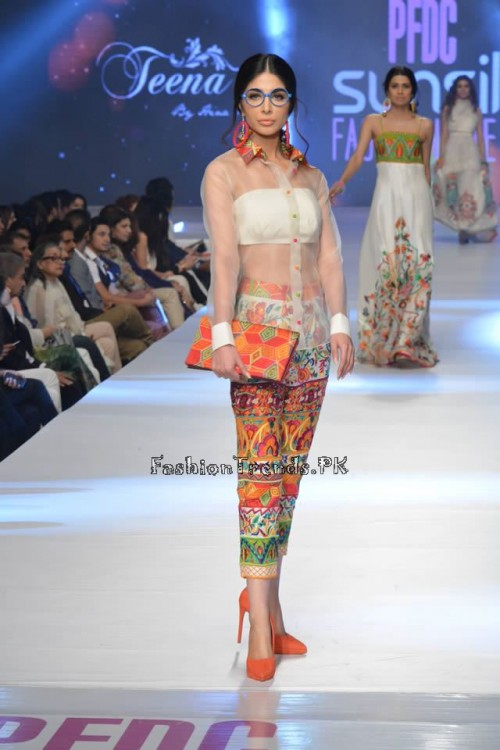 Teena by Hina Butt PFDC Sunsilk Fashion Week 2015 (1)