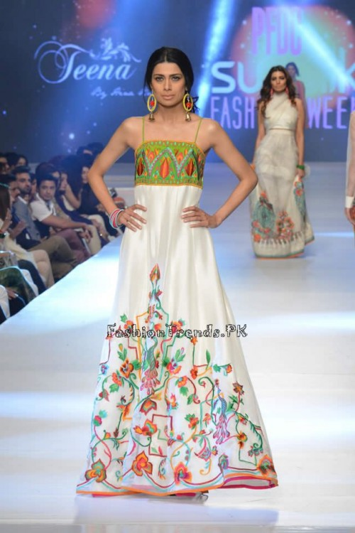Teena by Hina Butt PFDC Sunsilk Fashion Week 2015 (2)