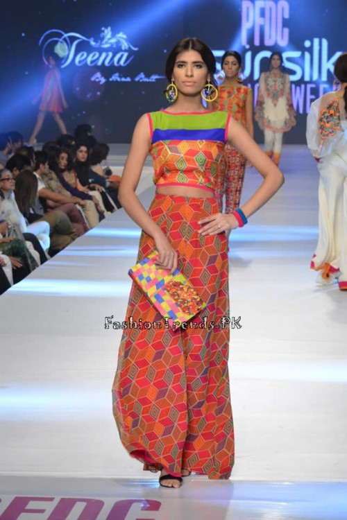 Teena by Hina Butt PFDC Sunsilk Fashion Week 2015 (7)