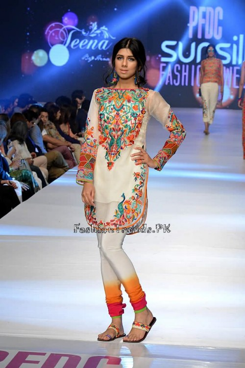 Teena by Hina Butt PFDC Sunsilk Fashion Week 2015 (9)