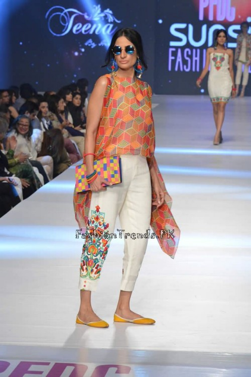 Teena by Hina Butt PFDC Sunsilk Fashion Week 2015 (10)
