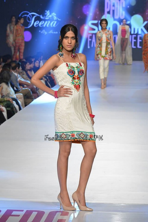 Teena by Hina Butt PFDC Sunsilk Fashion Week 2015 (11)