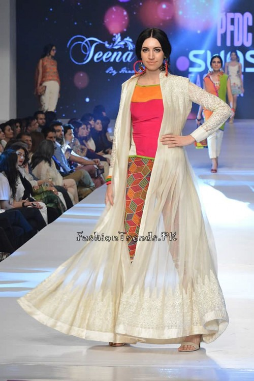 Teena by Hina Butt PFDC Sunsilk Fashion Week 2015 (13)