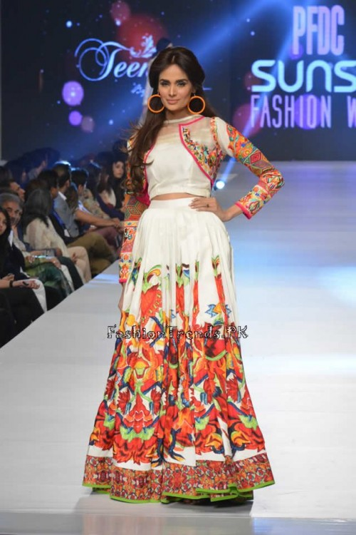 Teena by Hina Butt PFDC Sunsilk Fashion Week 2015 (16)