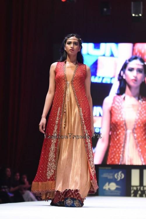 Uzma Babar Bridal Collection at IFF 2015 Doha (10)