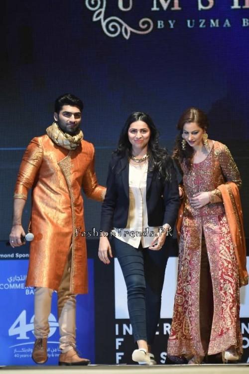 Uzma Babar Bridal Collection at IFF 2015 Doha (13)