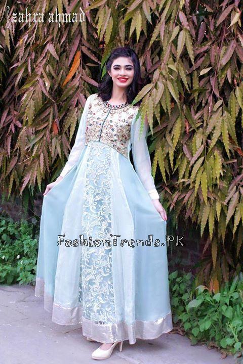Zahra Ahmad Formal Dresses 2015 (1)