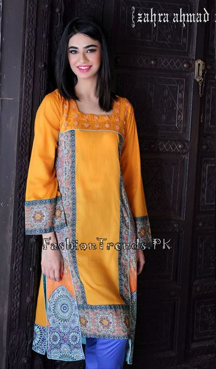 Zahra Ahmad Formal Dresses 2015 (4)