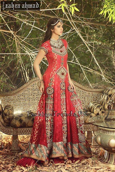 Zahra Ahmad Formal Dresses 2015 (6)