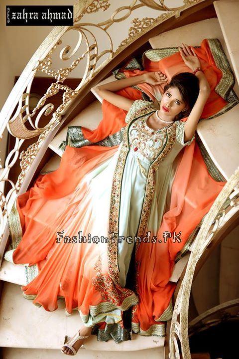 Zahra Ahmad Formal Dresses 2015 (10)