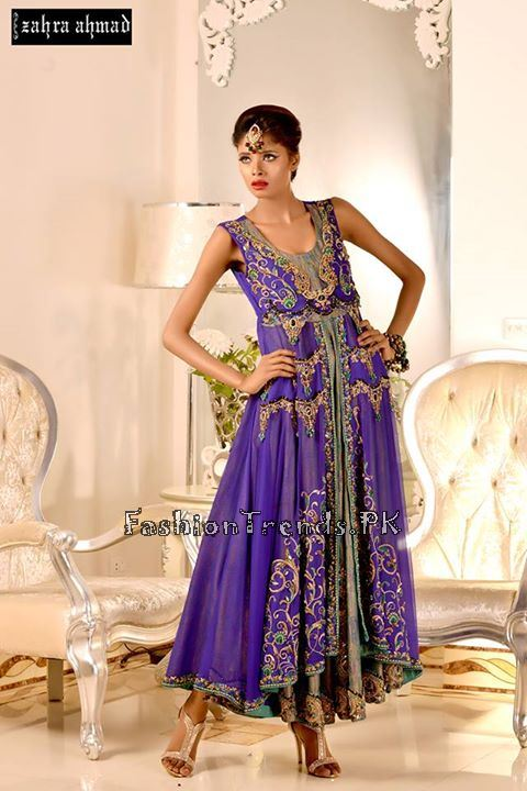 Zahra Ahmad Formal Dresses 2015 (13)
