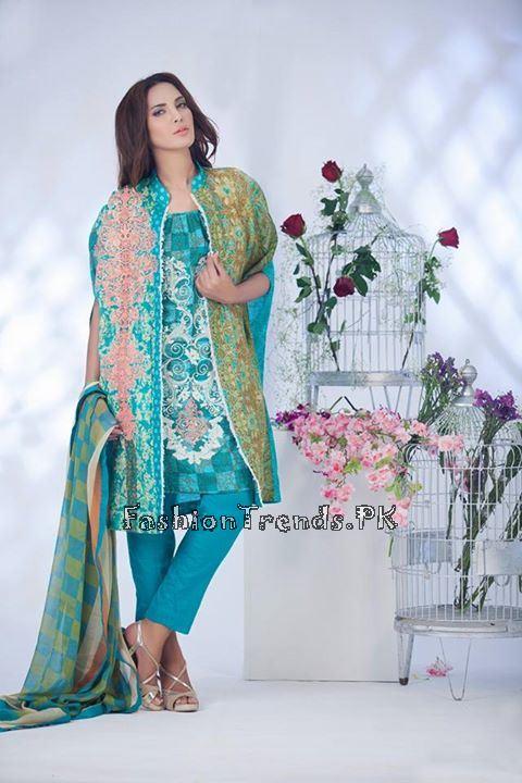 Ayesha Somaiya Eid Lawn Dresses 2015 by Flitz (10)