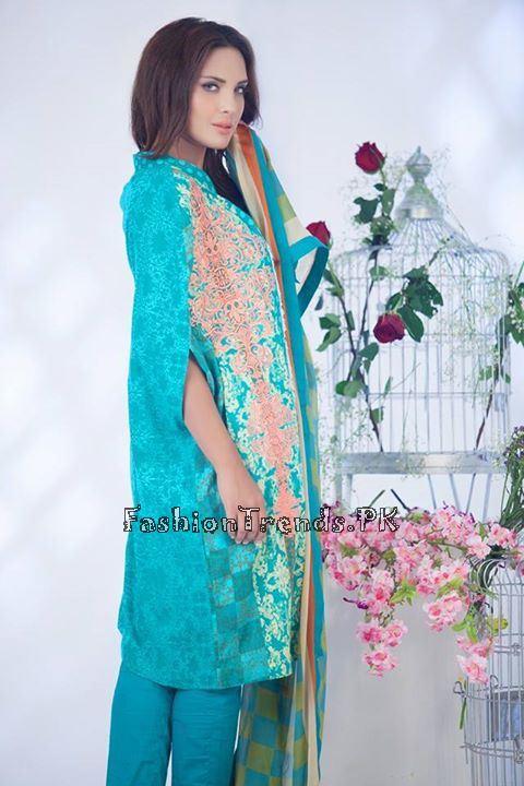 Ayesha Somaiya Eid Lawn Dresses 2015 by Flitz (12)