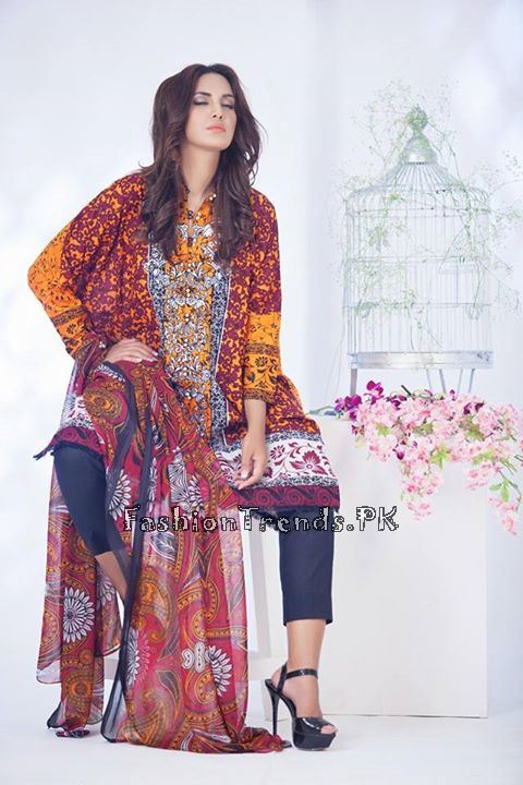 Ayesha Somaiya Eid Lawn Dresses 2015 by Flitz (13)