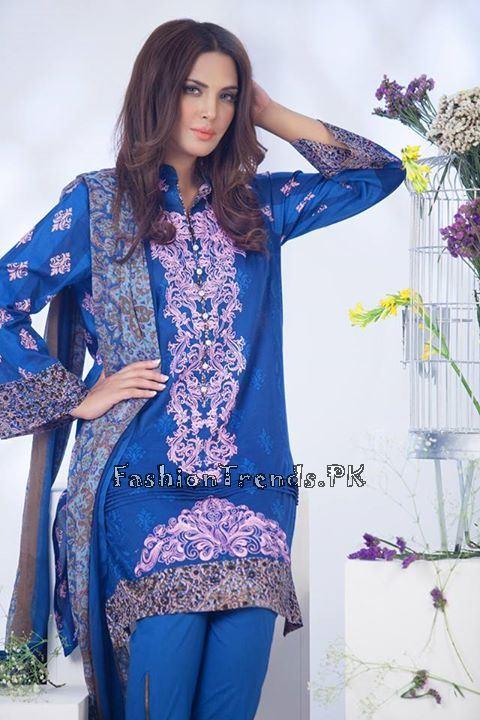 Ayesha Somaiya Eid Lawn Dresses 2015 by Flitz (14)
