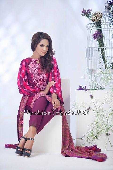 Ayesha Somaiya Eid Lawn Dresses 2015 by Flitz (15)