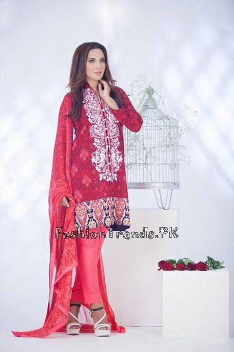 Ayesha Somaiya Eid Lawn Dresses 2015 by Flitz (2)