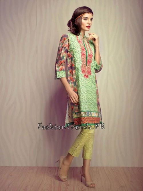 Ethnic By Outfitters Eid Collection 2015 (10)