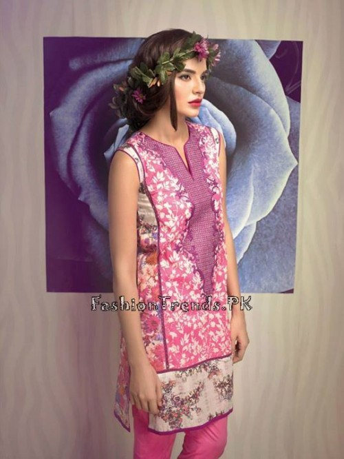 Ethnic By Outfitters Eid Collection 2015 (12)