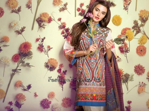 Ethnic By Outfitters Eid Collection 2015 (13)