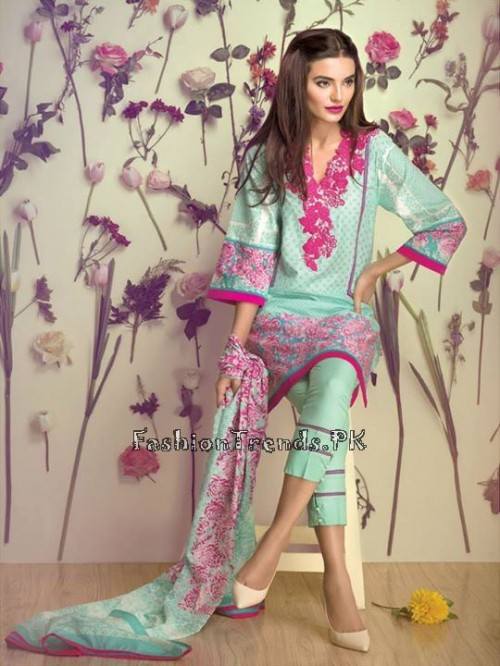 Ethnic By Outfitters Eid Collection 2015 (2)