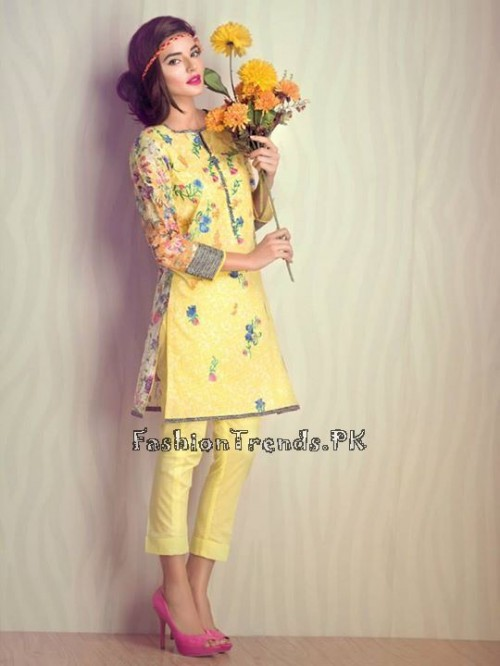 Ethnic By Outfitters Eid Collection 2015 (3)