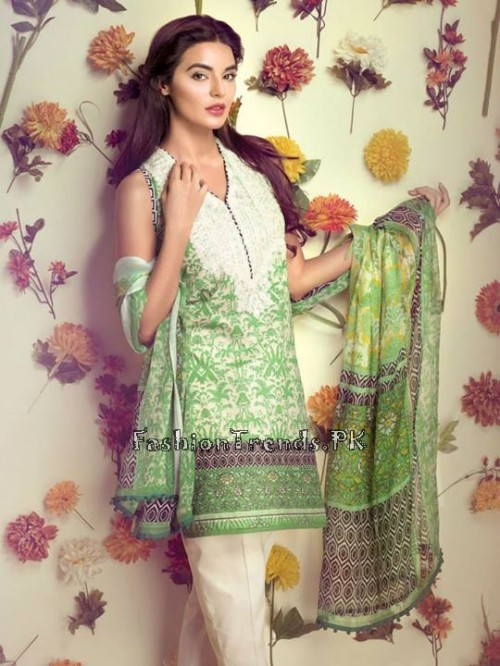 Ethnic By Outfitters Eid Collection 2015 (4)
