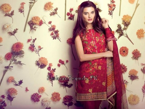Ethnic By Outfitters Eid Collection 2015 (5)