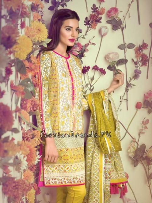 Ethnic By Outfitters Eid Collection 2015 (6)