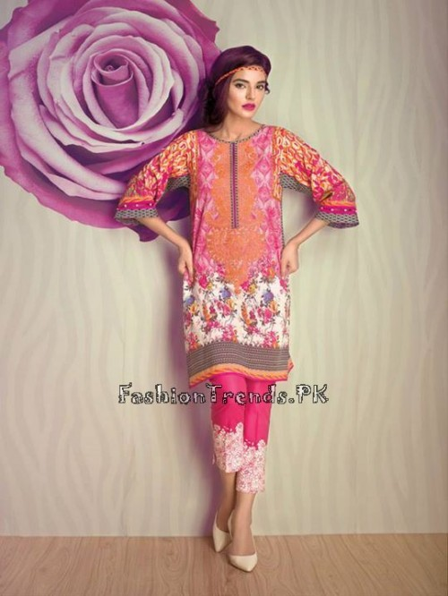 Ethnic By Outfitters Eid Collection 2015 (7)