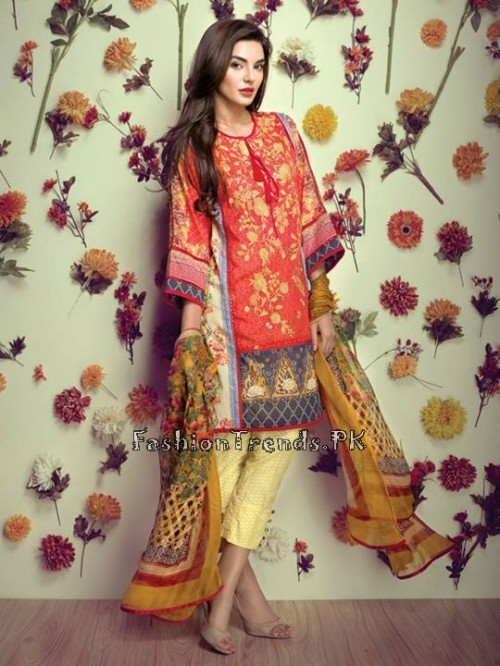 Ethnic By Outfitters Eid Collection 2015 (9)