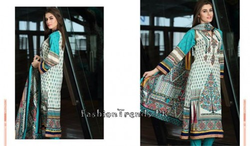 Firdous Lawn Collection 2015 Volume 4 (14)