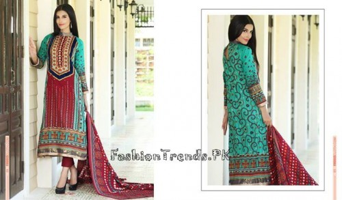 Firdous Lawn Collection 2015 Volume 4 (5)