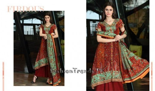 Firdous Lawn Collection 2015 Volume 4 (6)