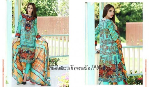 Firdous Lawn Collection 2015 Volume 4 (8)