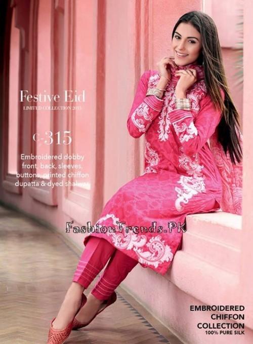 Gul Ahmed Festive Eid Collection 2015 (11)